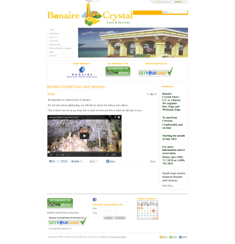 Crystal tours and services